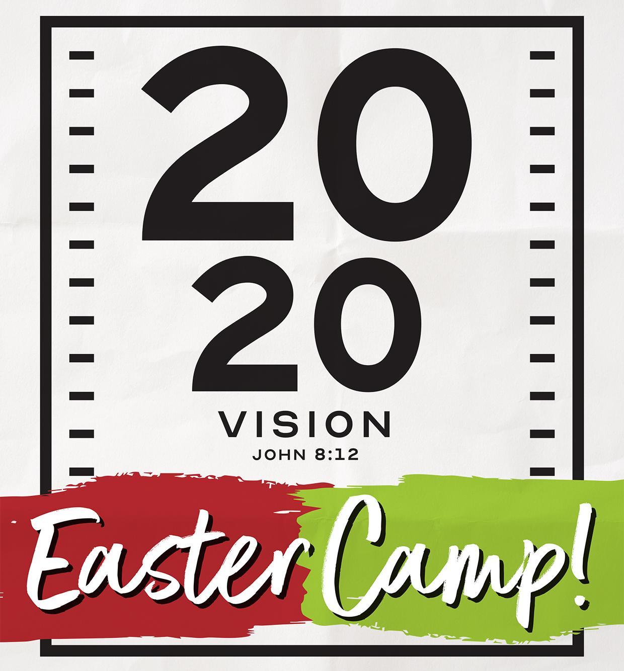 POSTPONED - EASTER CAMP 2020!