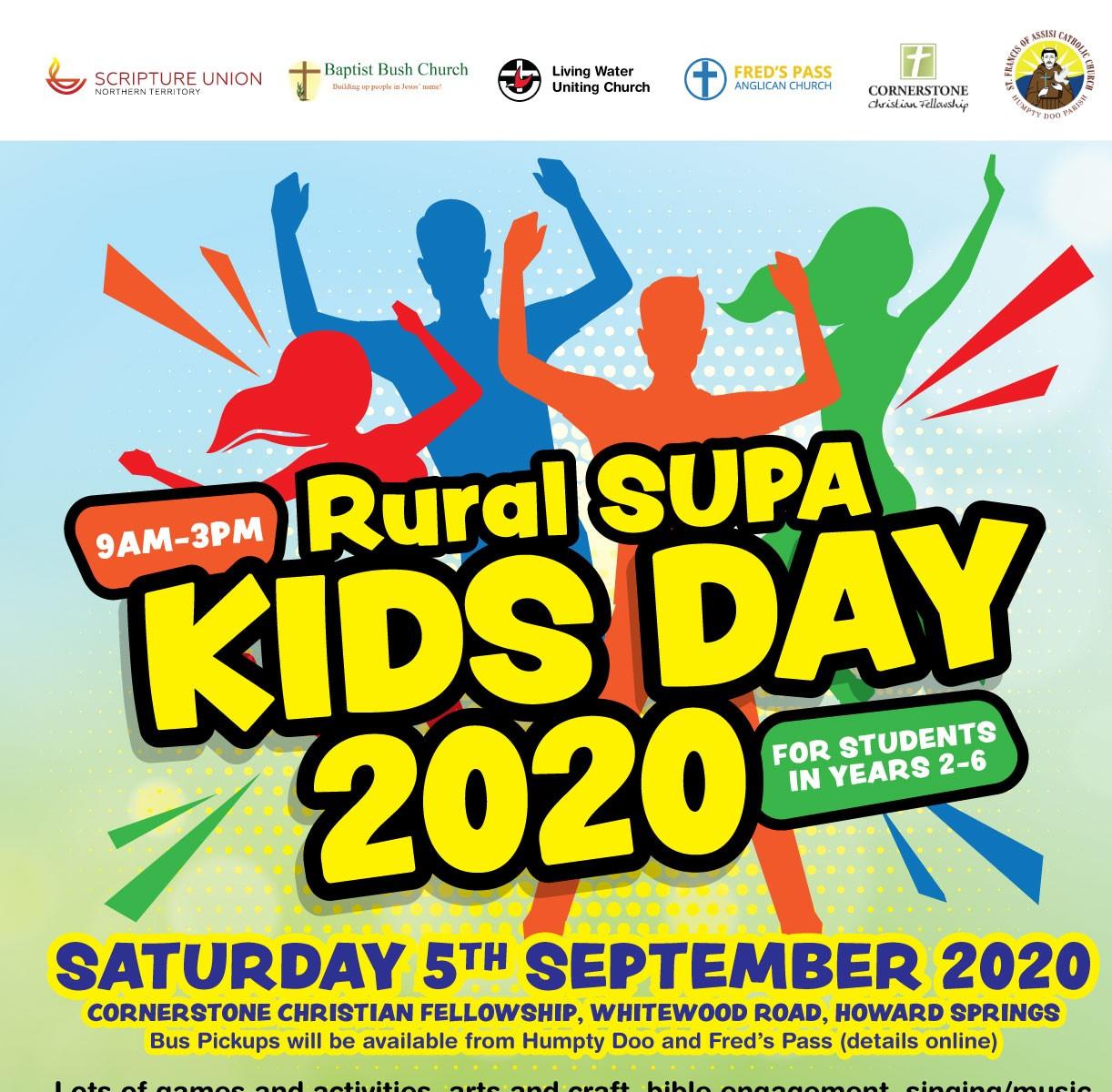 2020 Rural SUPA Kids Day