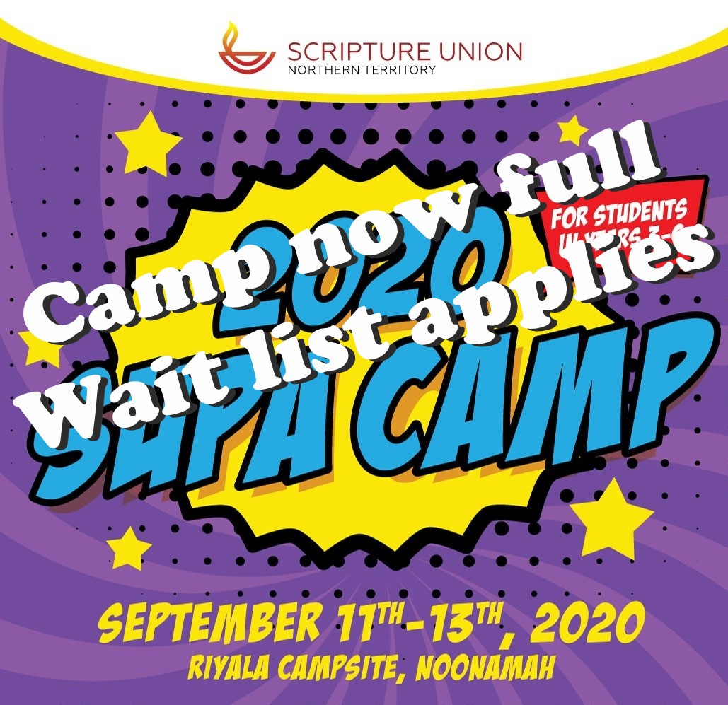 2020 SUPA Camp - NOW FULL