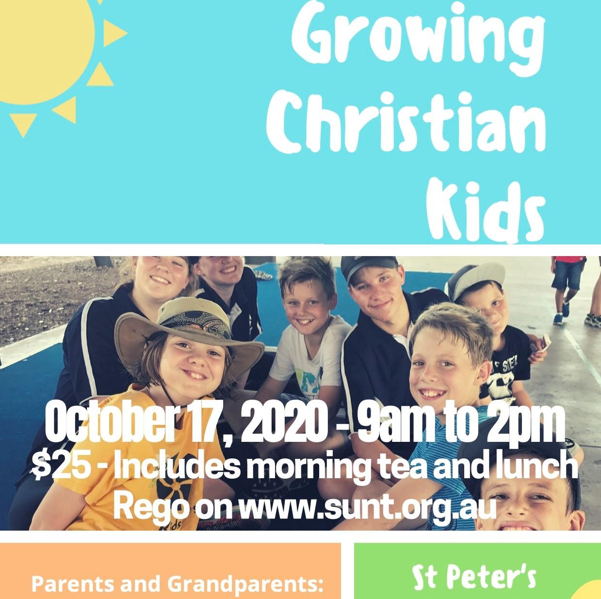 Growing Christian Kids Training Day